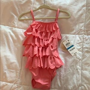 NWT Toddler pink swim suit